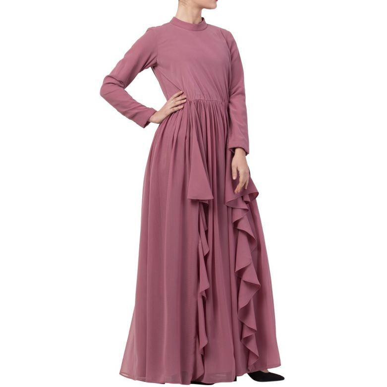 Modest Dress For All Occasions In Dual Layer