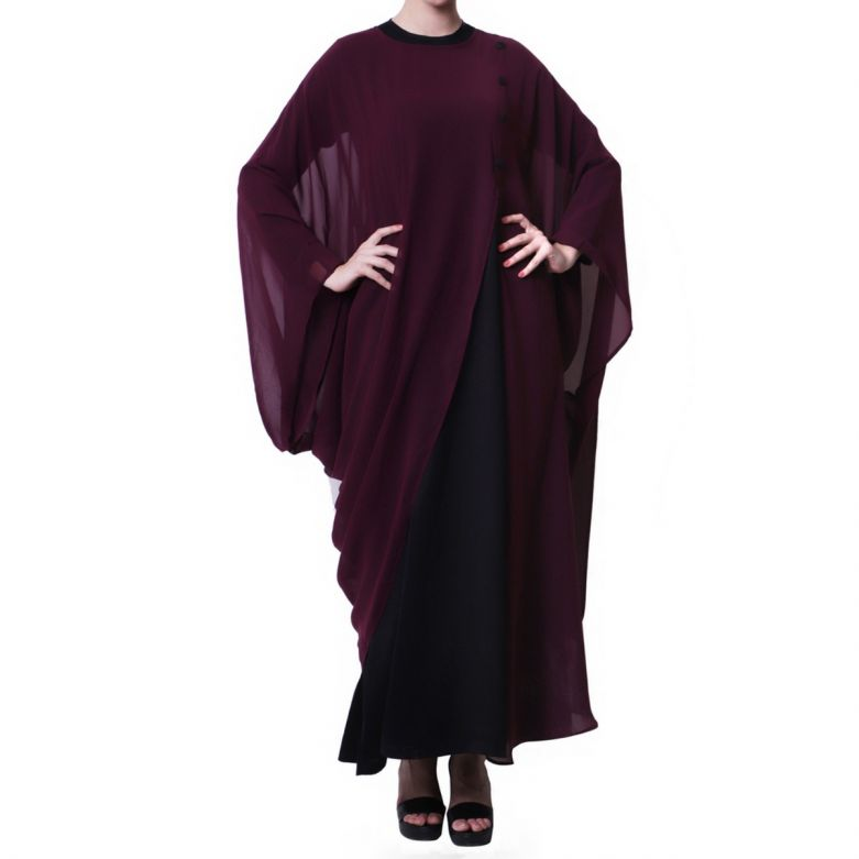 Mushkiya-Designer Dress In Abaya Fit-Not An Abaya.