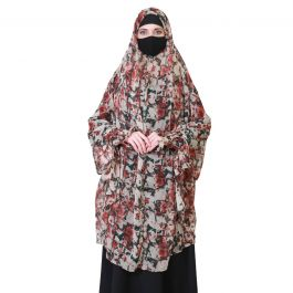 Fashionable Hijab For Indoor Purposes-Not A Prayer Hijab