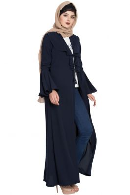 Coat Style Burqa|Cardigan For Burqa
