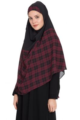 Ready To Wear- Instant Hijab With A Nose Pice