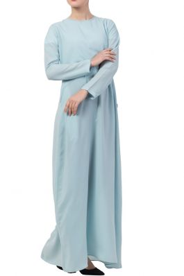 A Line Abaya With Side Pockets