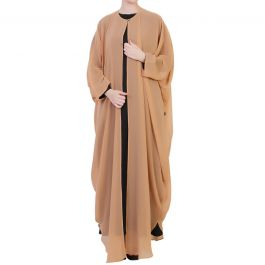 Mushkiya-Three Pcs-Abaya Set