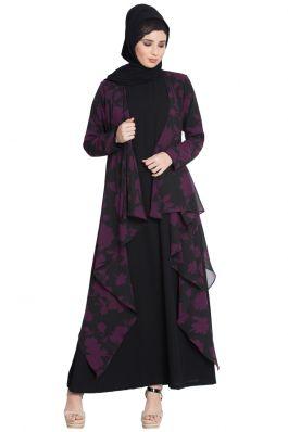 Over Abaya|Shrug For Any Abaya-Purple